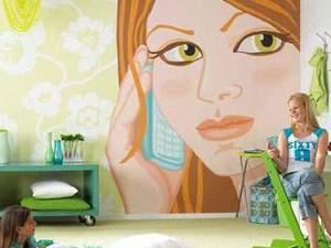 art dekoratör, ressam, barış yıldız isteğinize özel büyük duvar resimleri yapıl