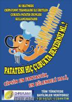 Türkyede Chips Funny ve By Patato olarak tescilli ilk ve tek marka