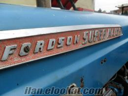1964 MODEL FORDSON SUPER MAJOR HİDROLİK DİREKSİYON