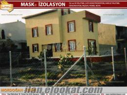 mask çatı izalasyon