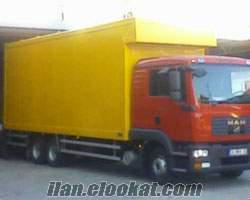 Göztepede kiralık kamyon