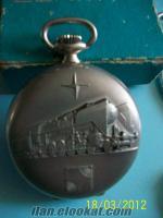 ZENİTH marka isviçre malı , gümüş, kurmalı köstekli saat