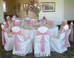 masa sandalye süsleme organizasyonu