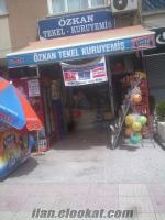 Ankaradan devren satılık kuruyemiş dükkanı