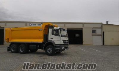 kiralık çift çeker damperli kamyonlar