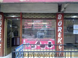 Devren satılık börekçi dükkanı işlek cadde konumunda