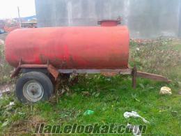 Satılık Su Tankeri
