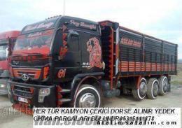 hurdaya kamyon çekici alımı