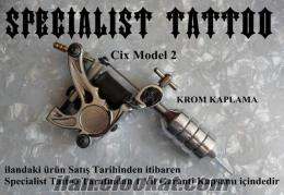 Cix Model Tam Profosyonel Dövme Makinası Tattoo Machine