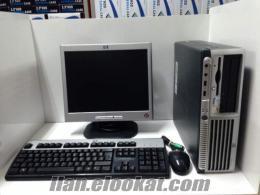 199 tlye 17 lcd monitörlü hp dc7600 full bilgisayar