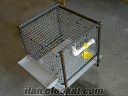 Bıldırcın keklik ve benzeri kuşlar için tasarlanmış mini boy kafesimiz