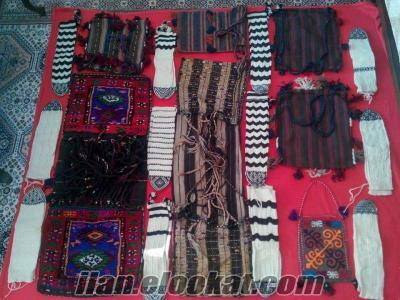 Kök Boyalı Heybeler, Yün çoraplar, yün eldivenler ve yün çantalar