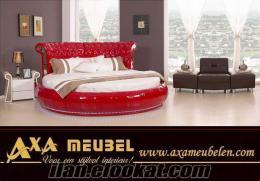 en şık ve kaliteli harika yuvarlak yatak AXA Mobilya Hollanda