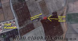 Sahibinden OTO ile TAKASLI Temellide 600 m2 TOKİ yanı ARSA.