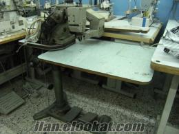 Satılık sanayi tipi dikiş makineleri