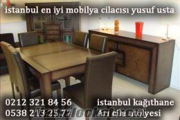 istanbul en iyi mobilya cilası cilacısı lake varak boya ustası arı cila atölyesi