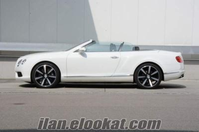 BENTLEY Continental GTC 4.0 V8 (Cabriolet)