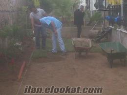 muğla ve izmirde hazır rulo çim ve uygulamaları