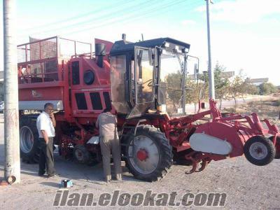 rimeco 3 sıralı pançar hasat makinası