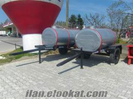 Termede su tankları