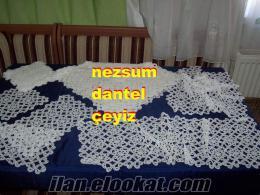 EVDE DANTEL İŞİ