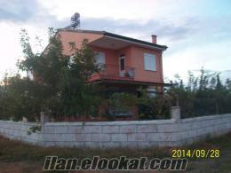 antalyada satılık bahçeli dubleks ev