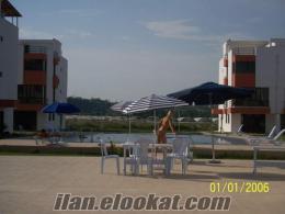 Antalya Lara Turizm Yolu Havuzlu Sitede Satılık Tripleks Villa
