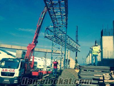 bandırmada kiralık vinç forklift sepetli platform sepet