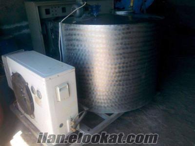 süt soğutma tankı 1200kg