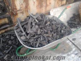 Düzcede mangal kömürü