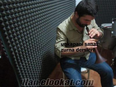 ÖZEL ZURNA DERSİ AYLIK 200 TL UNKAPANI SANAT İSTANBUL