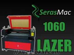 SerasMac 1060 lazer kazıma makinesi 60W 100cmX60cm çalışma alanı