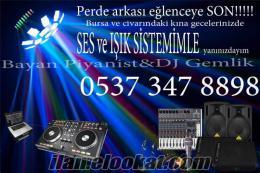 Bursa Bayan Piyanist/DJ