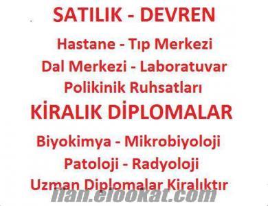 HASTANE - TIP MRK RUHSATLARI SATILIKTIR - POLİKİNİK RUHSATLARI SATILIKTIR