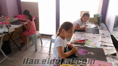 Antalyada çocuklar için resim kursu