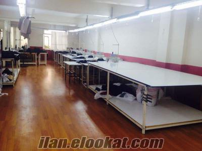 çağlayanda devren satılık konfeksiyon tekstil atölyesi