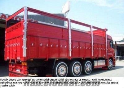 şirketlerden sahibinden parçalanacak yeni kamyon çekici alınır