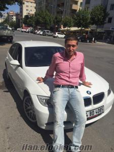 BMW 3.18i beyaz renk 2008 model 4 şirkette çalıştım iş arıyorum. muhasebe finans