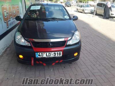 Kırşehirde satılık 2011 renault symbol modifiyeli