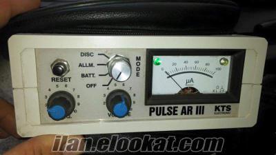 PULSE AR III Derin Pulse Sistem Dedektör HER TÜRLÜ DEDEKTÖR İLE TAKAS YAPILIR