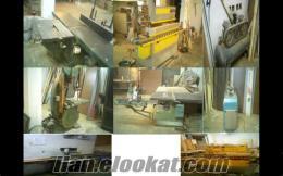 sahibinden satılık komple marangoz makinaları-komple satılık mobilya iamalat mak