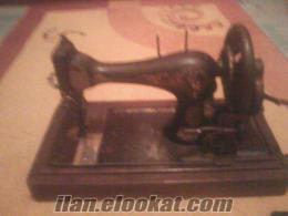 130 yıllık SINGER ALMAN dikiş makinası