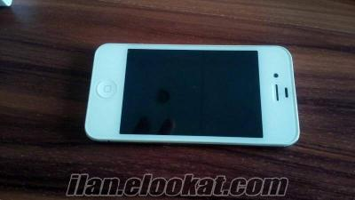 İPHONE 4 16 GB BEYAZ İLK SAHİBİNDEN