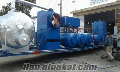 atık yağ mobil tesisi rafineri makina baran geri dönüşüm