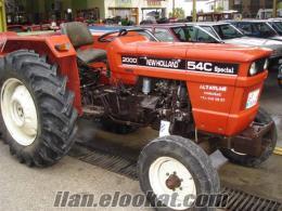 satılık 2000 model newholland 54 c marka traktör