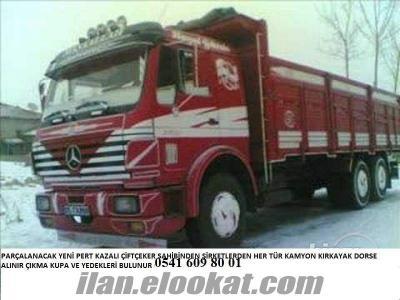 parçalanacak kamyon kamyonet çekicileriniz degerinde nakit olarak alınır