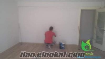 izmir boya ustası boya, alçı, stropiyer, asma tavan, dış cephe boyama