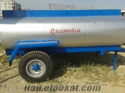 sıfır galvanis su tankeri 3 tonluk
