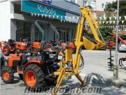 Traktör Mini Beko Kazıcı Yükleyici Kepçe