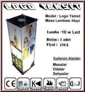 Logo Yansit Masa Lambasi Tavanda Slayt Logo